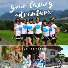 Womens Bike Tours Lake Annecy the perfect cycling holiday in France, escape with this amazing cycling holiday both on and off the bike. Cycling Tours, Road Cycling, Lake Annecy, Holidays France, Annecy France, Cycling Holiday, New Friendship, Enjoying Life, French Alps