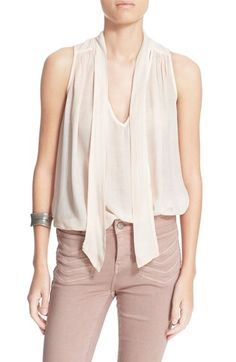 Free People Tie Neck Tank available at #Nordstrom