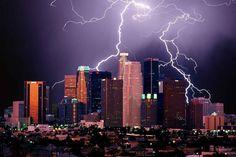 La tempesta è perfetta, il fotografo va a caccia di fulmini Los Angeles - the perfect storm
