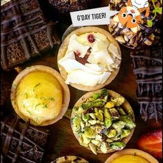 G'day Tiger, did you know we do desserts too? One stop shop for all your birthday needs! Finger Foods, Mexican, Breakfast, Birthday, Ethnic Recipes, Desserts, Shop, Morning Coffee, Tailgate Desserts