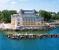 The casino in the Black Sea resort town of Constanta, Romania