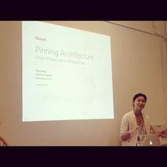 Tracy Chou talk on Pinterest Architecture at Hackbright Academy! - Photo by hackbright