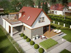 DOM AF7-33 - gotowy projekt domu