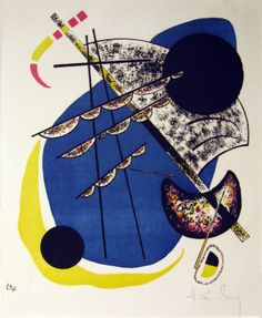 """Wassily Kandinsky, """"Kleine Welten VI"""" (1922) / φωτό: courtesy Springfield Museum"""