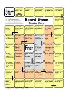 Board Game - Passive Voice