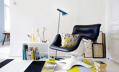 Karuselli Chair / Yrjö Kukkapuro // Finnish Design Shop /// via Apartment Therapy Nordic Furniture, Home Furniture, Furniture Design, Home Decor Sites, Living Room Essentials, Diy Home, Take A Seat, Scandinavian Home, Nordic Design