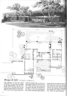 1950 Ranch Style House Plans For Homes furthermore 1970 Interior Design Materials likewise Modern Single Story Cubical House Metal Facade Cologne also 289215607299008491 as well 50s Ranch House Plans. on 60s house plans