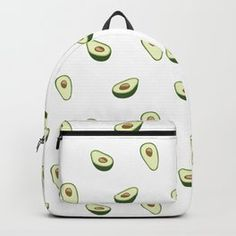 Cute Avocado Pattern Backpack by Girly Things, Cool Things To Buy, Cute Mini Backpacks, Cute Avocado, Accessoires Iphone, Cute School Supplies, Cute Bags, Cute Casual Outfits, Cute Baby Animals