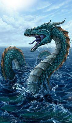 Dragon of the Deep