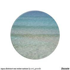 aqua abstract sea water nature drink coaster