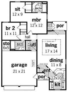 Elegant House Plan No.488011 House Plans By WestHomePlanners.com