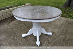 cerused oak dining table 24