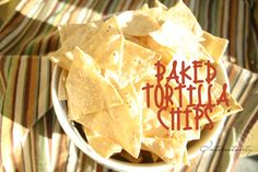 Cottage Frameworks (New Name): EZ Baked Tortilla Chips