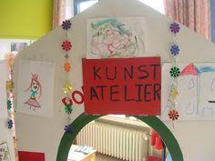 Tweede kleuterklas Mariasteen: Kunst in de klas