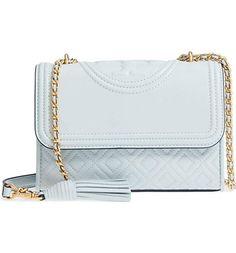 8afe22b247ce Tory Burch Fleming Convertible Shoulder Bag (Seltzer) designer handbags  spring handbags handbag fashion handbag ideas expensive handbags handbag  essentials ...