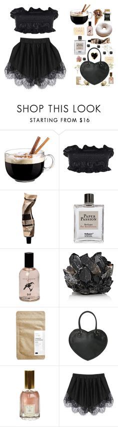 """""""{ gothic picnics }"""" by ilmee ❤ liked on Polyvore featuring Luminarc, Marni, Aesop, Steidl, McCoy Design, Paper & Tea, Dr. Vranjes and Stoney Clover Lane"""