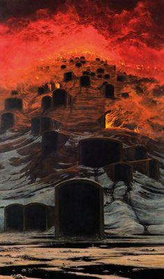 Ce peintre polonais a appris à «photographier les rêves», ses œuvres vous donneront des cauchemars.