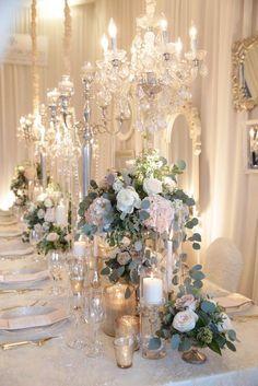Photographer: Daniela Ciuffa Photography; wedding reception centerpiece idea;
