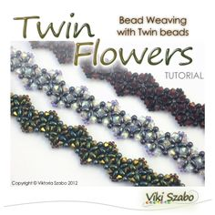 FDEkszer - Beading Tutorials and Bead Patterns: Twin Flowers