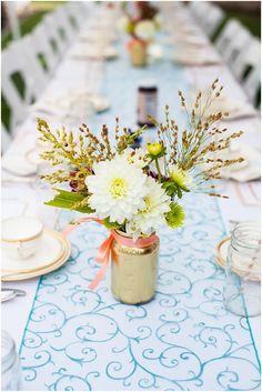 Kristin's Bridal Shower: Garden Tea Party