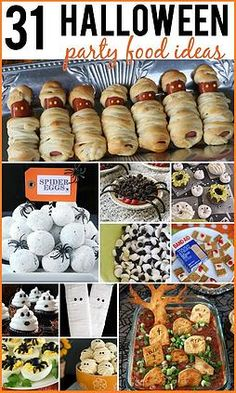 Kaila's Place|31 Halloween Food Party Ideas