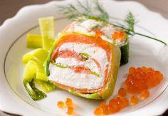 La terrine de saumon fumé au poireau