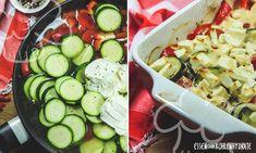 Mmh, sooo gut! Knackiges Gemüse trifft auf saftiges Hähnchen und würzigen Fetakäse. Schnell gekocht und super lecker! Proteinreich und Low Carb – ein perfektes Ofengericht für den Feierabend.