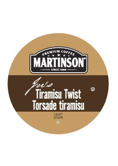 Martinson Tiramisu Twist  24 ct -- $11.88