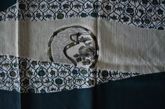 Vintage Japanese furoshiki eco gift wrapping cloth