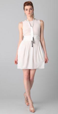 (3.1 phillip lim) sleeveless chiffon dress