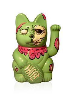 Zombie Cat, what someone wishes I looked like he,he! Fight the truth if you wish to, Lola no longer messenger getting shot. Maneki Neko, Japanese Bobtail, Get Shot, Kokeshi Dolls, Cat Jewelry, Pattern Art, Bowser, Book Art, Character Design