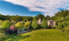 6 private acres await at this European Village style setting adjacent to a historic natural preserve with sprawling lawns and mature trees. 1358 Page Road Nashville Tv Show, Expensive Houses, Country Estate, Celebrity Houses, Property Records, Birds Eye View, Architectural Digest, New Shows, Luxury Real Estate