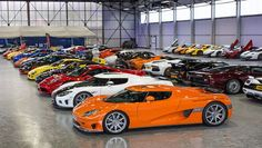 This is what £20m of supercars looks like - BBC Top Gear