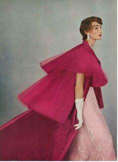 1950s model Evelyn Tripp in Vogue