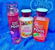 Bath & Body Works Sunset by the Pool - Smells amazing!