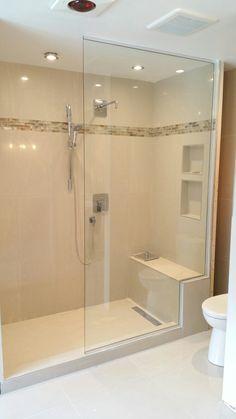 voir cette pingle et dautres images dans douche sans porte par vitrerie filion lemieux - Douche Sans Porte