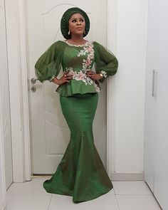 Beautiful Aso Ebi Styles to Rock This Weekend : Trendy 2019 Styles For YouHi ladies. Getting ready for your next owambe or wedding? We present the best, cute and beautiful aso ebi styles to rock this Aso Ebi Lace Styles, African Lace Styles, Trendy Ankara Styles, Kente Dress, Ankara Skirt And Blouse, African Party Dresses, African Fashion Dresses, Ankara Fashion, African Wear