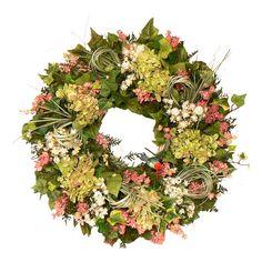 Hummingbird Preserved Wreath