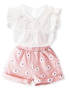 23a07e99 Bear Leader Girls Clothing Sets 2017 Summer New Popular White Butterfly  Sleeve Solid T-Shirt + Pink Pants Sets Children Clothes * Pub Date: Jul 14  2017