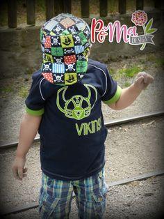 Plotten, Shirt, Jersey, Nähen, Silhouette, Schnittmuster, Kinder, Kleidung, Jungs,Vikings, Vikinger, Upcycling, Recycling
