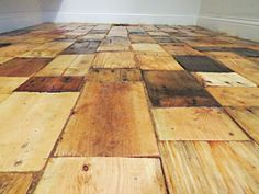 floor made of pallets!