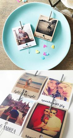 Light up an evening wedding reception with these polaroid sparkler favours from Instajunction