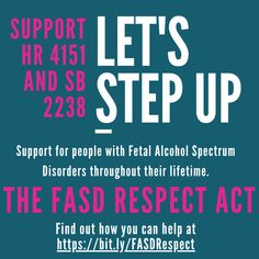 It's time to STEP UP efforts to get the #FASDRespect Act through the legislature! GO TO bit.ly/FASDRespect to learn how you can help. #FASD #prenatalexposure #adoption #fostercare #kinshipcare Kinship Care, Fetal Alcohol Syndrome, Single Parent, Foster Family, Developmental Disabilities, Spectrum Disorder, Foster Care, Training Center, Ptsd