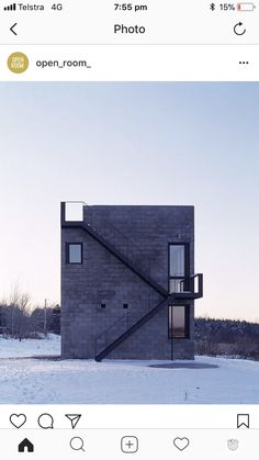 Lofts, Open Architecture, Decking, Modern Contemporary, Interior And Exterior, Tiny House, Minimalism, House Plans, Villa