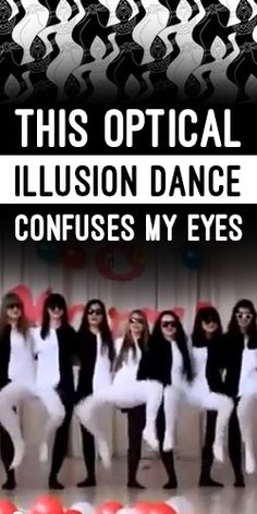 This Optical illusion Dance Confuses My Eyes