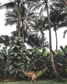 Backyard Hammock in Hanalei Bay Kauai Travel Guide via Find Us Lost