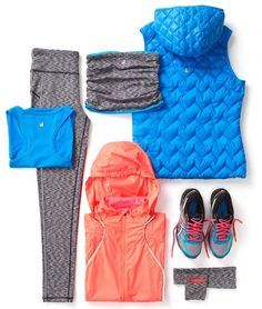 Outdoor running outfit from Sweaty Betty