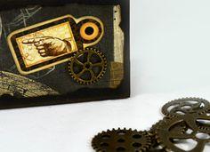 ¡Buenos días! #Detallitos   #LittleDetails de nuestros mini álbumes hechos en cajas de fósforos => http://www.manosinkietas.com/tienda/mini-albumes-steampunk #manualidades #artesanía #handcrafted #craft #álbum #miniálbum #photoalbum #recycling #reciclando #reciclaje #hechoamano #handmade