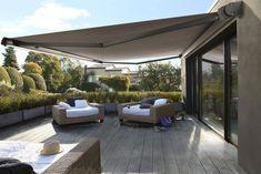 Ideas small patio shade garden design for 2019 Pergola Curtains, Pergola Swing, Backyard Pergola, Patio Roof, Pergola Plans, Pergola Ideas, Cheap Pergola, Curved Pergola, Mosquito Curtains