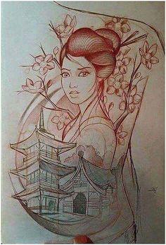 Back tattoo smoker recipe for ribs - Smoker Cooking Geisha Tattoos, Geisha Tattoo Design, Japanese Tattoo Art, Japanese Tattoo Designs, Japanese Art, Tattoo Drawings, Body Art Tattoos, Sleeve Tattoos, Graffiti Tattoo